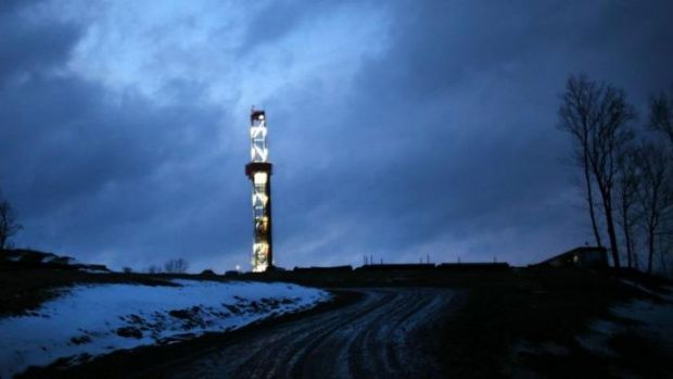 A fracking operation in Pennsylvania. Across the state border in Ohio, strict new operating guidelines are being ...