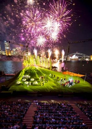 Opening night: Fireworks at <i>Madama Butterfly</i>.