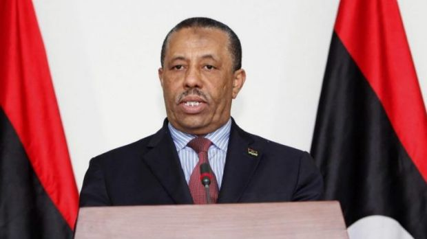 Abdullah al-Thinni has been interim prime minister for just one month.