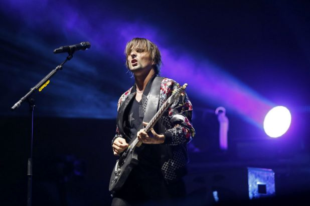 Matt Bellamy of Muse.