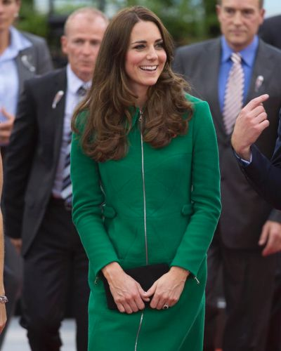Catherine, Duchess of Cambridge during a visit to the Avantidrome on April 12, 2014 in Hamilton, New Zealand.