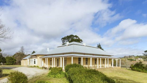 Up for lease: the picturesque Throsby Park.