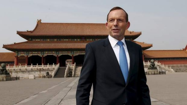 Chinese dealmaking in Australia was discussed during Prime Minister Tony Abbott's visit.