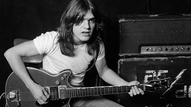 Raw rockers: Malcolm Young and AC/DC kept things simple.