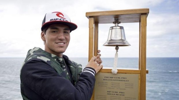 Gabriel Medina has his eyes on the Bells prize