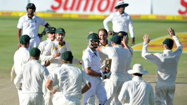 Australia on the way to winning the third Test against South Africa.