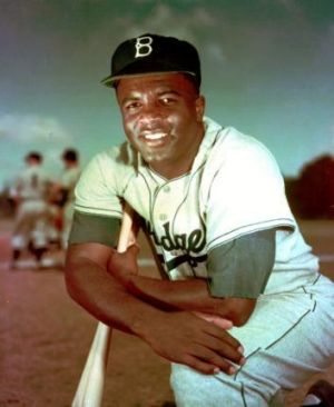 Jackie Robinson in 1952.