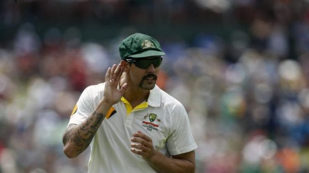 Australia's Mitchell Johnson.