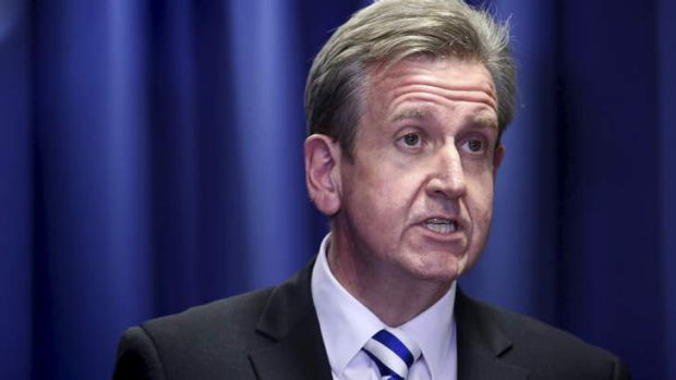 Stepping down: Barry O'Farrell.
