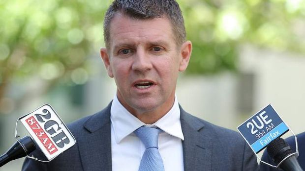 Mike Baird: one of the favourites to replace Barry O'Farrell.