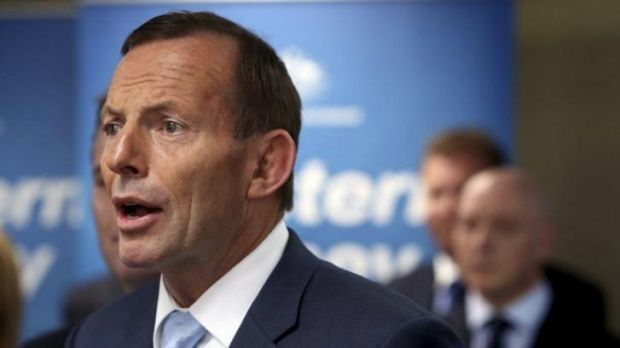 Prime Minister Tony Abbott at Liverpool Council in western Sydney.