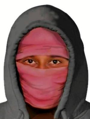 A digital image of the alleged carjacker released by police.