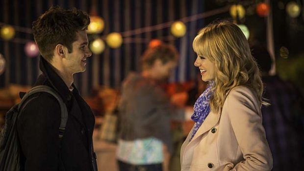 Maturing: Andrew Garfield and Emma Stone feel they are bringing more depth and wisdom to their characters.