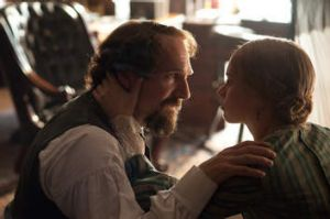 <i>The Invisible Woman</i>, starring Ralph Fiennes as Charles Dickens.