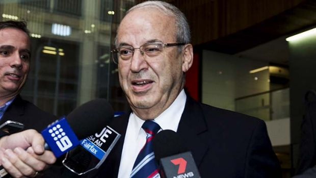 Featured in an unprecedented seven corruption inquiries: Eddie Obeid.