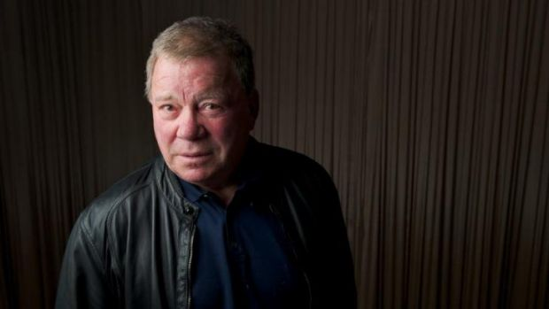 Loves to start a conversation ... William Shatner enjoys live tweeting about sci-fi television shows, and the actors ...