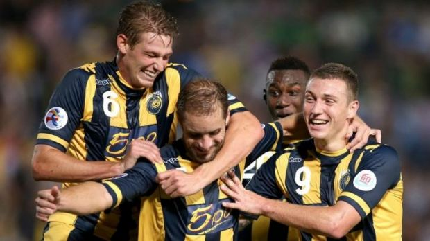 Punching above their weight: Central Coast Mariners.