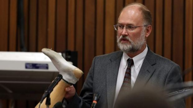 Roger Dixon was called as a forensic expert by Pistorius' team.
