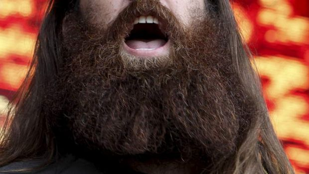 Has the beard trend gone out of control?