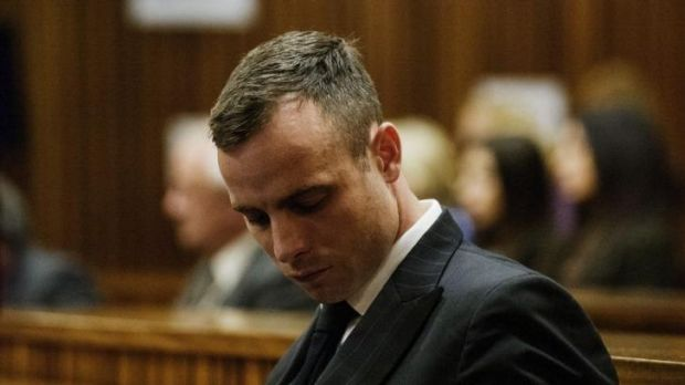 Rough justice: 'So who should we blame for the fact that you shot her,' prosecutor Gerrie Nel asked Oscar Pistorius.