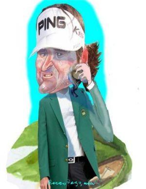 US Masters champion Bubba Watson.