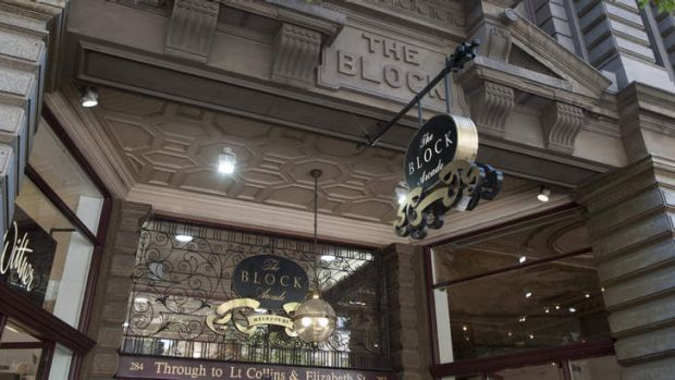 The Block Arcade in Melbourne has been bought by the Cohen family.