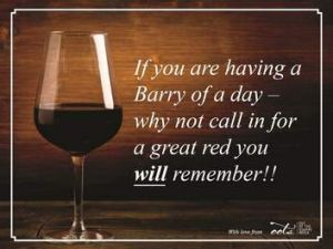 Barry O'Farrell's slip-up has already entered the public lexicon, as shown by the ad below for the Reserve Wine Bar in ...