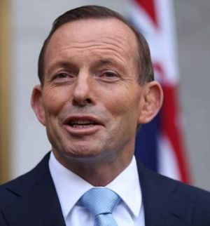 Wanting the private sector to bear the cost: Prime Minister Tony Abbott.