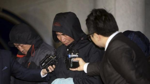 Suspect: Lee Jun-seok, the captain of the Sewol, was arrested and is likely to face criminal charges.