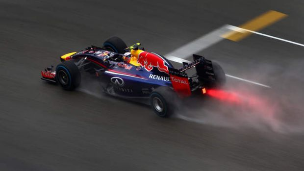 Daniel Ricciardo is on the front row for the Chinese Grand Prix.