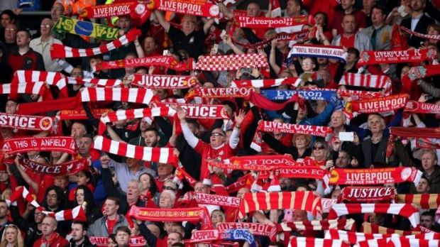 Liverpool fans on the Kop: Roy Dixon's lone plea five years ago started the quest for a new inquiry into the death of 96 ...