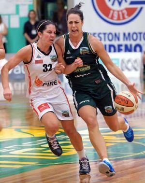 Seattle-bound: Jenna O'Hea will concentrate on her career in the US with the Storm this year.