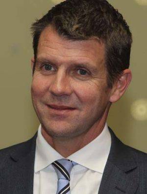 """""""A good part of any leadership style is bringing people with you and empowering them in their roles"""": Premier Mike Baird."""