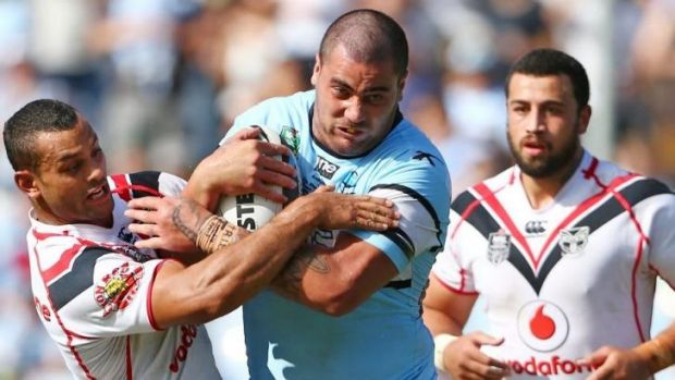 Unresolved: Andrew Fifita and the Bulldogs are yet to come to a resolution.