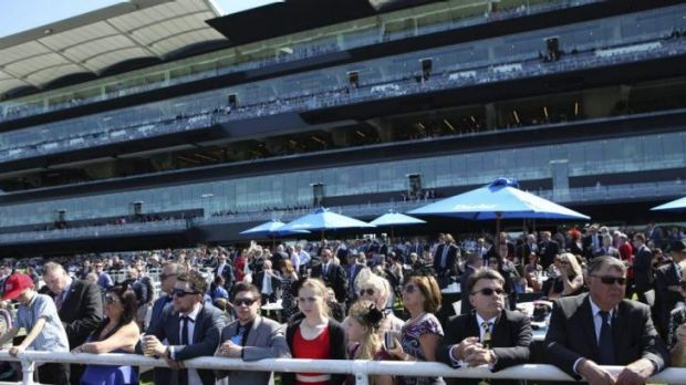 Big day out: 25,000 were on hand at Randwick on Saturday for day two of the Championships.