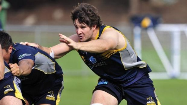 ACT Brumbies lock Sam Carter pushing for a return from injury.