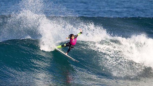 More in the tank: Sally Fitzgibbons.