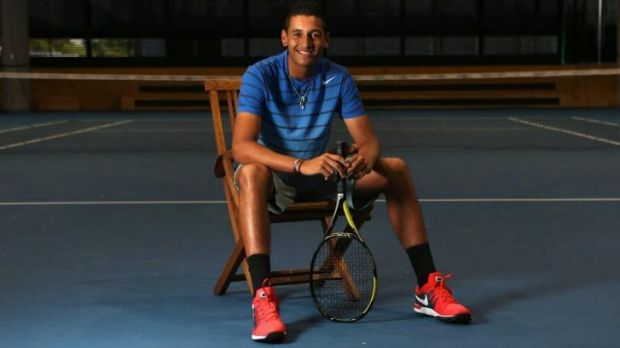 Canberra teenager Nick Kyrgios is in the Sarasota Open final.
