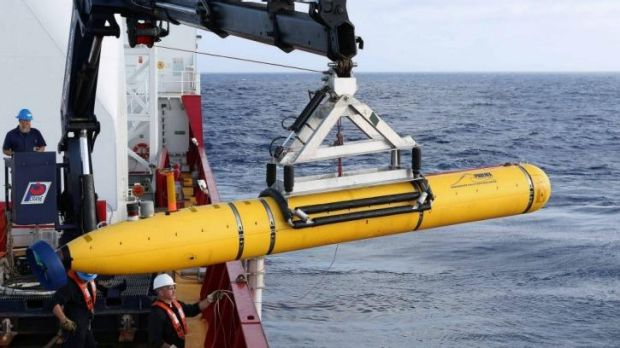 "The Bluefin-21 undersea drone dived ""beyond its depth rating"" in an attempt to locate the plane's black boxes."