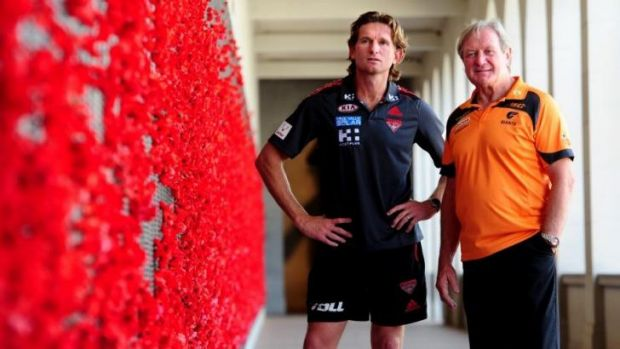 James Hird's Essendon are a regular on Anzac Day, while Kevin Sheedy's Giants want a piece of the action. The pair are ...
