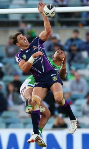 Anthony Milford still has a way to go before he can overtake Billy Slater in the Queensland team, Maroons skipper ...