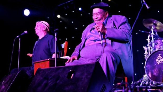 Silver anniversary: James Cotton performs as Bluesfest crowds celebrate the festival's 25th year.
