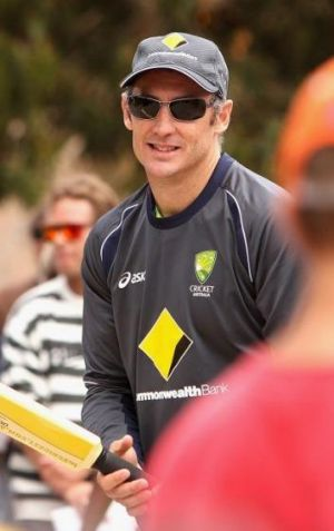 Set for coaching role: David Hussey.