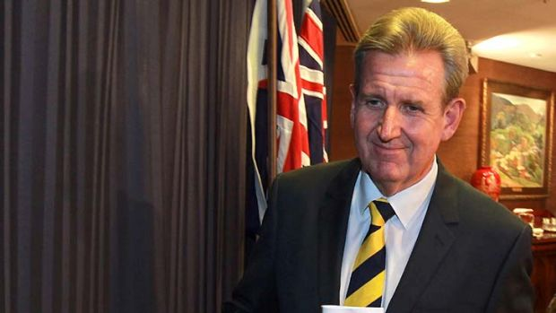 Hefty pension: Barry O'Farrell to receive $160,000 a year.