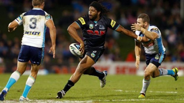Bragging rights: Penrith centre Jamal Idris enjoyed a victory against his former club.