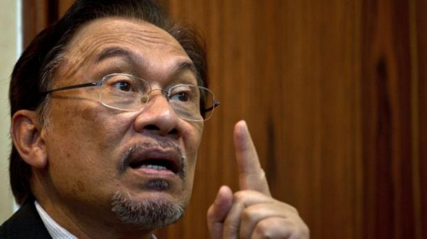 US president Barack Obama won't meet with Malaysian opposition leader Anwar Ibrahim, pictured.