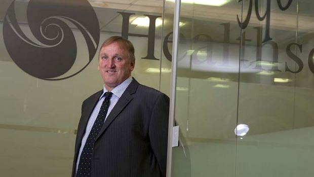 Rob Cooke, chief executive of Healthscope.