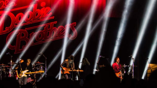 The Doobie Brothers at the Deni Blues & Roots Festival.