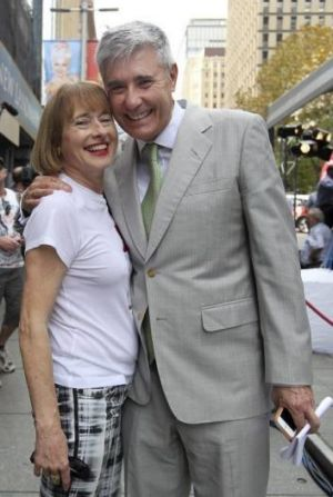Gai and Rob Waterhouse will be attending May's race meeting.