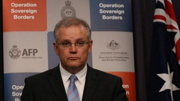 "The ""policy is working"" ... Immigration Minister Scott Morrison has defended the Australian government's tow-back policy ..."
